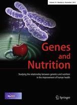 Genes & Nutrition: editorial