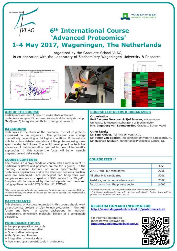 Poster Advanced Proteomics 2017